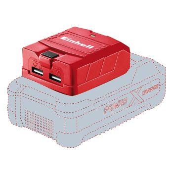 Einhell USB-Solo Power X-Change Battery Adaptor 18V Li-Ion - EINTECP18LI