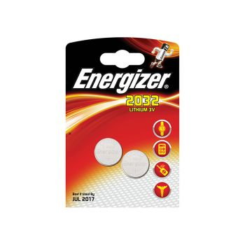 Energizer CR2032 Coin Lithium Battery Pack of 2 - ENG2032B2