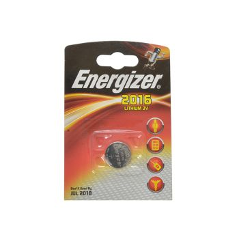 Energizer CR2016 Coin Lithium Battery Single - ENGCR2016