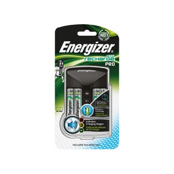Energizer Pro Charger + 4AA 2000 mAh Batteries - ENGPROCHARGE