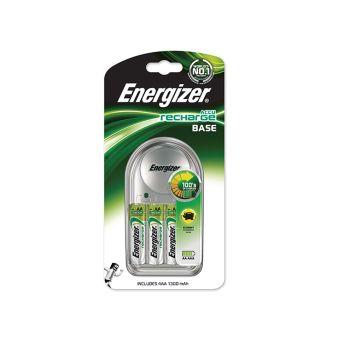 Energizer Charger 1300 + 4 AA 1300 mAh Batteries - ENGRCCOMPACT
