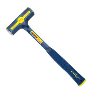 Estwing Engineers Hammer Smooth Face 48oz - Blue Nylon Grip - E648E