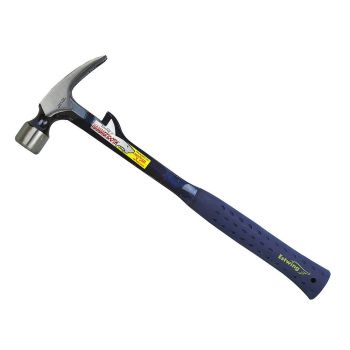 Estwing Framing Hammertooth Hammer Milled Face 22oz - Blue Nylon Grip - E622TM