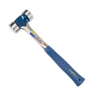 Estwing Linesman's Hammer Smooth Face 40oz - Blue Nylon Grip - E340L
