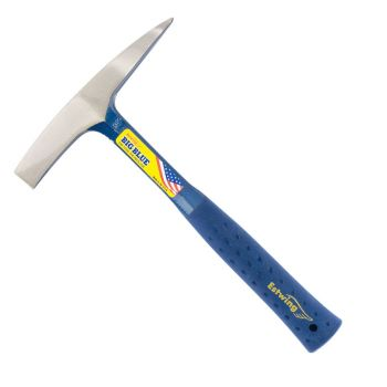 Estwing Welding/Chipping Hammer Smooth Face 14oz - Blue Nylon Grip - E3WC