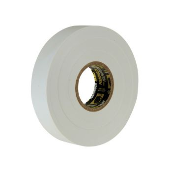 Everbuild Electrical Insulation Tape White 19mm x 33m - EVB2ELECWE