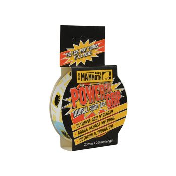 Everbuild Powerful Grip Double Sided Tape 25mm x 2.5m - EVB2PG25