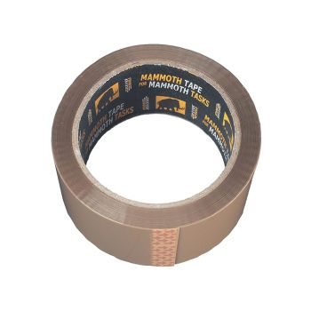 Everbuild Retail/Labelled Packaging Tape Brown 48mm x 50m - EVB2PTBN48