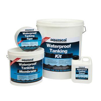 Everbuild Aquaseal Wet Room System Kit 4.5mᄇ - EVBAQSKIT45