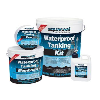 Everbuild Aquaseal Wet Room System Kit 7.5mᄇ - EVBAQSKIT75