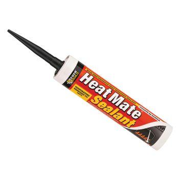Everbuild Heat Mate Sealant Black 295ml - EVBHTSBK
