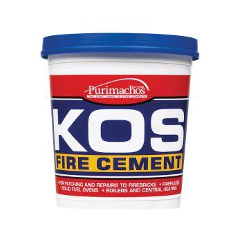 Everbuild KOS Fire Cement, Black 500g - EVBKOSBKL500