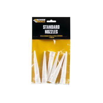 Everbuild Standard Nozzle Pack of 6 - EVBNOZSTD