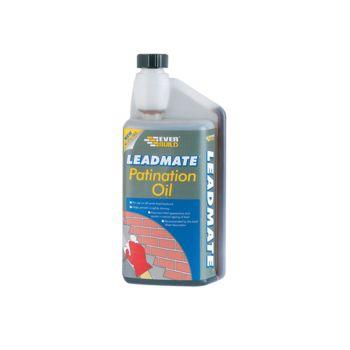 Everbuild Lead Mate Patination Oil 1 Litre - EVBPATOIL1L
