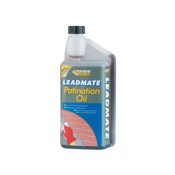 Everbuild Lead Mate Patination Oil 500ml - EVBPATOIL500