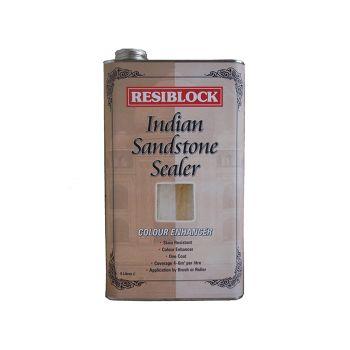 Everbuild Resiblock Indian Sandstone Sealer, Colour Enhancer 5 Litre - EVBRBINDENH5