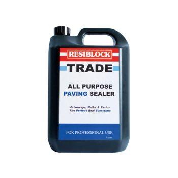 Everbuild Resiblock All Purpose Paving Sealer 5 Litre (Trade) - EVBRBT5L