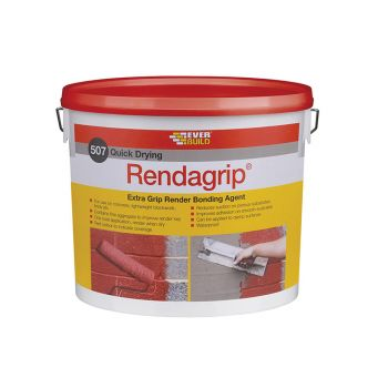 Everbuild 507 Rendagrip Bonding Agent 10 Litre - EVBRENDGP10