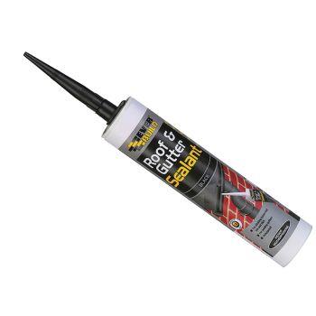 Everbuild Roof & Gutter Sealant Black 295ml - EVBROOFBL