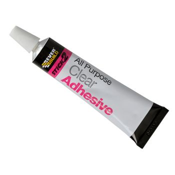 Everbuild STICK2 All-Purpose Adhesive Tube 30ml - EVBS2CLEAR