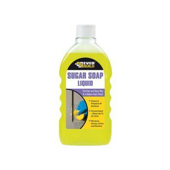 Everbuild Sugar Soap Liquid Concentrate 500ml - EVBSOAPLIQ