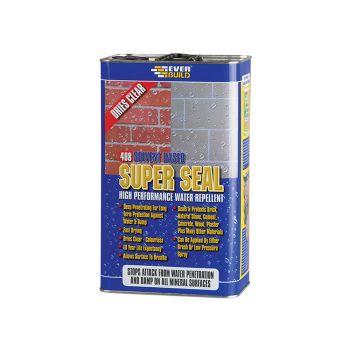 Everbuild 408 Super Seal (Exterior Wall Seal) 5 Litre - EVBWALLSEAL5