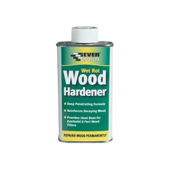Everbuild Wet Rot Wood Hardener 250ml - EVBWOODHARD2