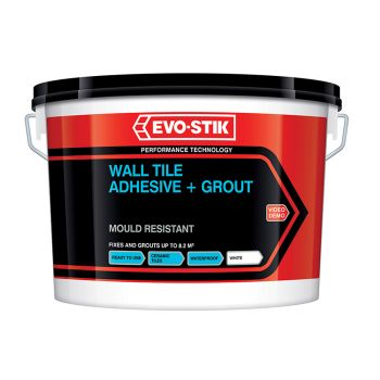 Evo-Stik Mould Resistant Wall Tile Adhesive & Grout 2.5 Litre - EVO416529