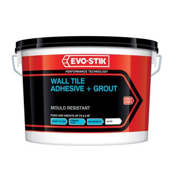 Evo-Stik Mould Resistant Wall Tile Adhesive & Grout 5 Litre - EVO416536