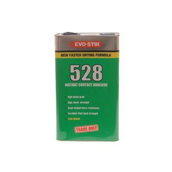 Evo-Stik 528 Instant Contact Adhesive 5 Litre - EVO5285L
