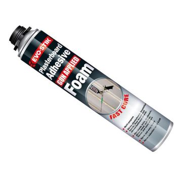 Evo-Stik Plasterboard Adhesive Foam Gun Applied - EVOPAFGUN