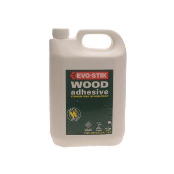Evo-Stik 715912 Resin Wood Adhesive 5 Litre - EVORW5L