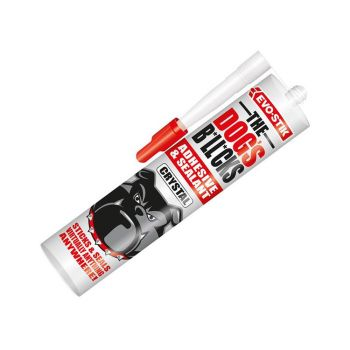 Evo-Stik The Dog's B*ll*cks Multipurpose Adhesive & Sealant, Crystal Clear 290ml - EVOTDBCR