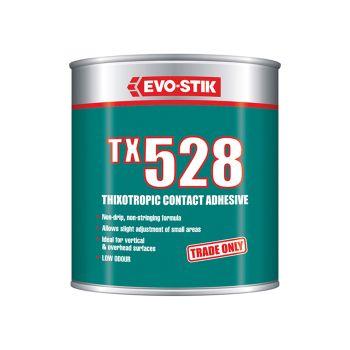 Evo-Stik TX528 Thixotropic Contact Adhesive 1 Litre - EVOTX5281L