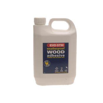 Evo-Stik 718210 Weatherproof Wood Adhesive 2.5 Litre - EVOWP212L