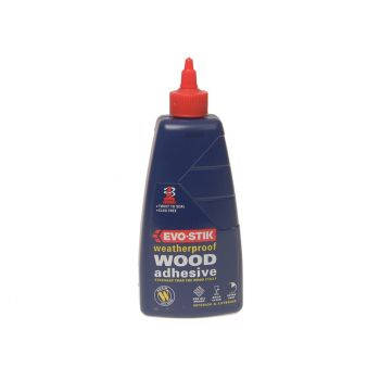 Evo-Stik 717411 Weatherproof Wood Adhesive 500ml - EVOWP500