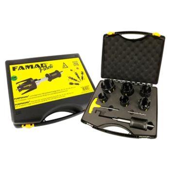 Famag Paroli All Round Universal 8 piece hole saw kit. - FAMF2166808