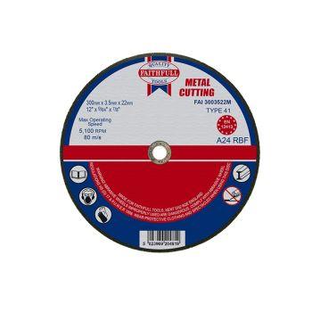 Faithfull Metal Cut Off Disc 300 x 3.5 x 22mm - FAI3003522M