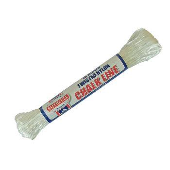 Faithfull 302 Twisted Nylon Chalk Line 18m (Box of 12) - FAI302