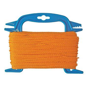 Faithfull 306 Polyethylene Ranging Line 30m (100ft) Orange - FAI306