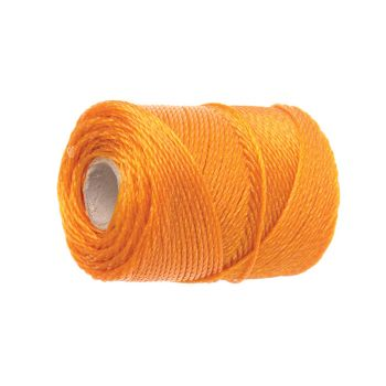 Faithfull 3100 Polyethylene Brick Line 100m (328ft) Orange - FAI3100