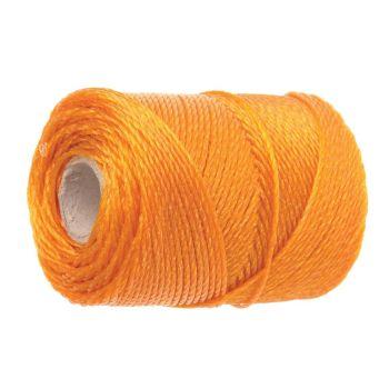 Faithfull 3250 Heavy-Duty Polyethylene Brick Line 250m (820ft) Orange - FAI3250