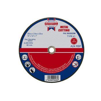 Faithfull Metal Cut Off Disc 355 x 2.8 x 25mm - FAI3502825M