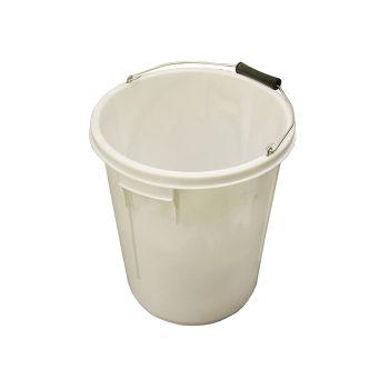 Faithfull 5 Gallon 25 litre Bucket - White - FAI5GBUCKET
