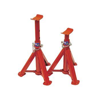 Faithfull Folding Axle Stands 2 Tonnes (Pair) - FAIAUAXLE2