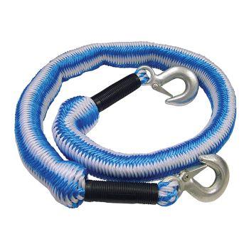 Faithfull Tow Rope Expanding 4m Metal Hooks 3 Tonnes - FAIAUTRELAST
