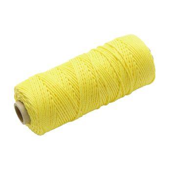 Faithfull Hi Vis Nylon Brick Line 105m (344ft) Yellow - FAIBLHVY