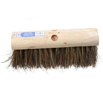 Faithfull Saddleback Broom Stiff Bassine / Cane 325mm (13 in) - FAIBRBC13SA