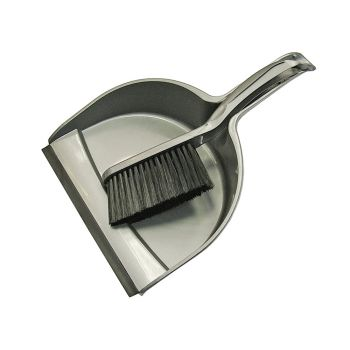 Faithfull Dustpan & Brush Set Plastic (220mm) - FAIBRDUSTSET