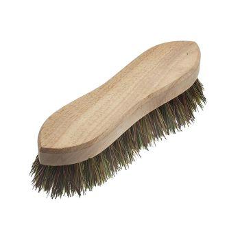 Faithfull Hand Scrubbing Brush 200mm (8in) Unvarnished - FAIBRHANDSCR